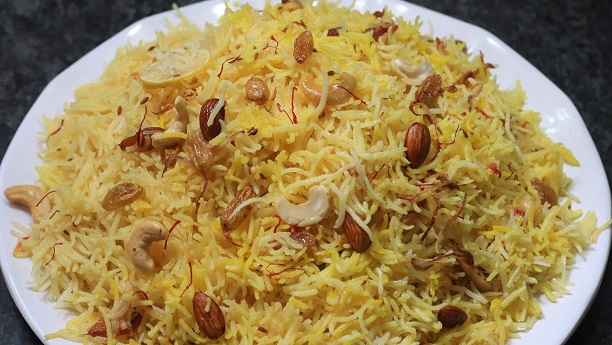 Hyderabadi Zafrani Pulao
