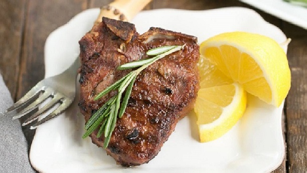 Lamb Chops with Rosemary and Lime