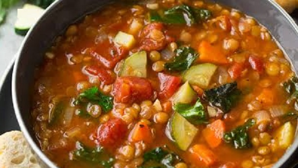 Mixed Vegetables and Lentils
