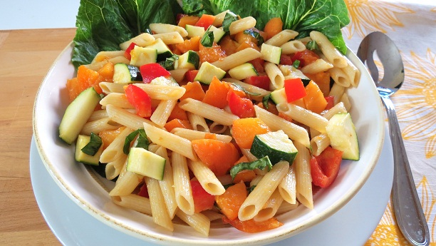 Multi Colored Pasta Salad