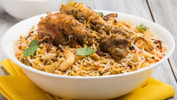 Omani Chicken Biryani