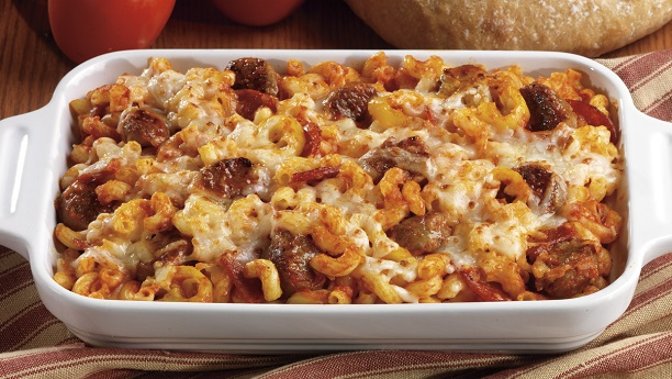 Sausages Pizza Casserole