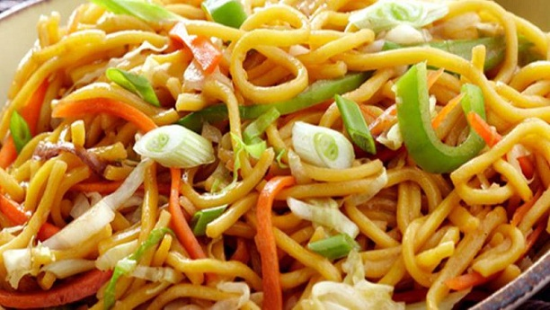 Spicy Vegetable Noodles