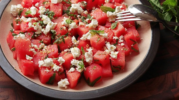 Watermelon and Fetta Cheese Salad