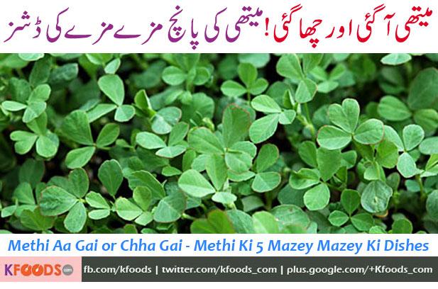 Top 5 Methi Leaves Recipes (Fenugreek Recipes) | KFoods