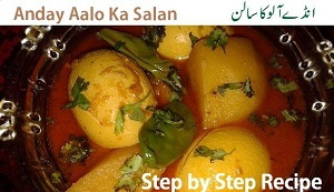 Anday Aloo Ka Salan Recipe