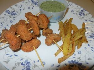 Crispy Chicken Sticks - Step By Step Recipe