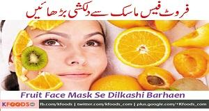 Fruit Face Mask Se Dilkashi Barhaen