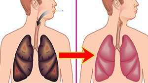 How To Clean Your Lungs From Nicotine