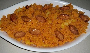 How to Make Badam Halwa Recipe