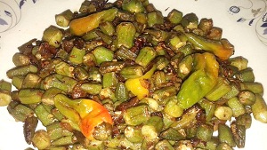 Fried Bhindi Recipe