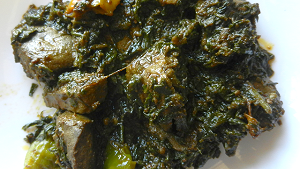How to Make Kaleji Palak Recipe