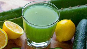Lemon Cucumber Weight Loss Smoothie