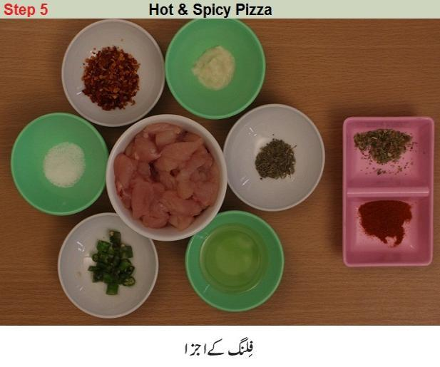 hot and spicy pizza recipe