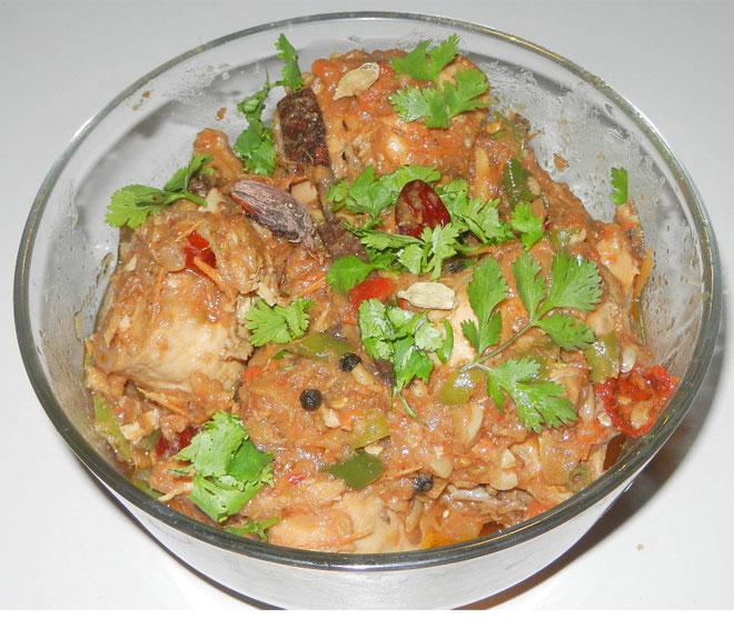 chicken khara masala