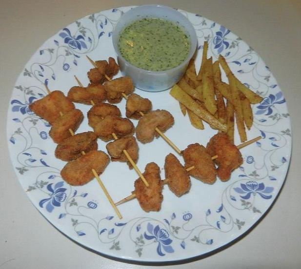 boneless chicken sticks recipe