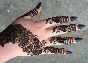 10 Beautiful Mehandi Designs for Eid 2017