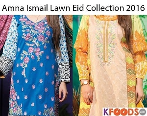 Amna Ismail Lawn - The Choice of 2016!