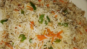 Chinese Egg Fried Rice (Step by Step) Recipe
