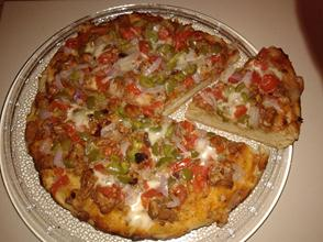 Chicken Tikka Pizza Recipe without Oven (Step by Step)