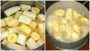 Boiled Banana Tea Benefits