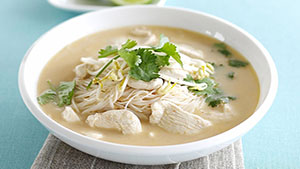 Thai Soup Recipe | Thai Chicken Soup Step By Step