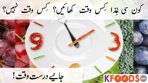 The Right Time to Eat Certain Foods