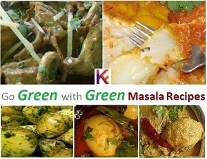 Top 5 Green Masala Recipes