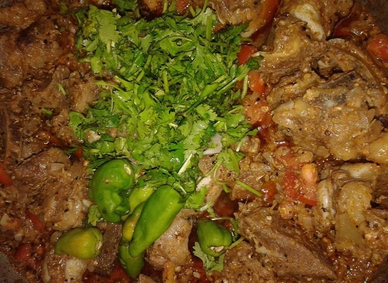 achar gosht recipe step by step