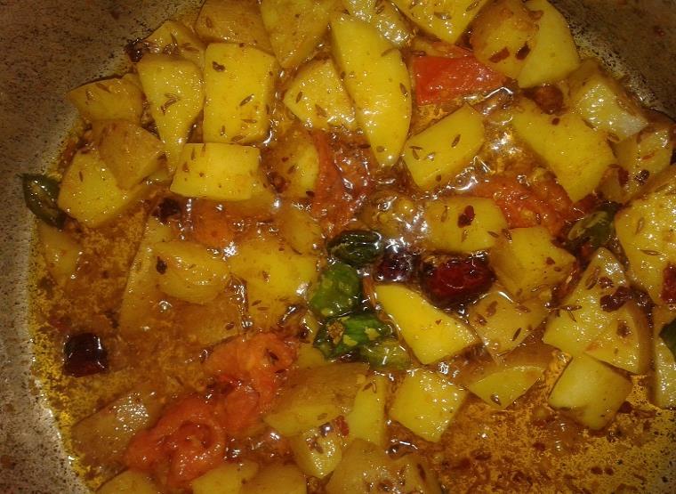 aloo methi curry recipe