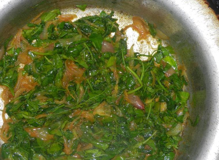 how to make anda methi recipe