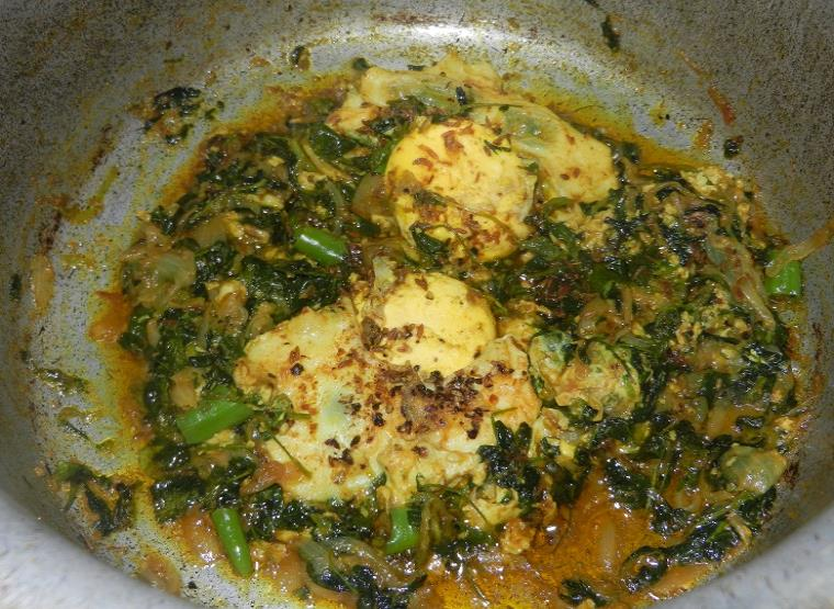 anda methi in urdu