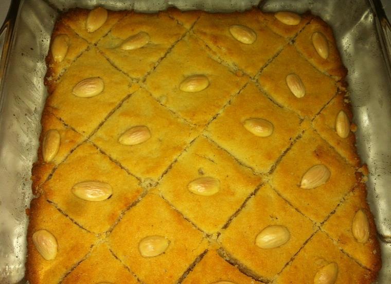 basbousa cake recipe urdu