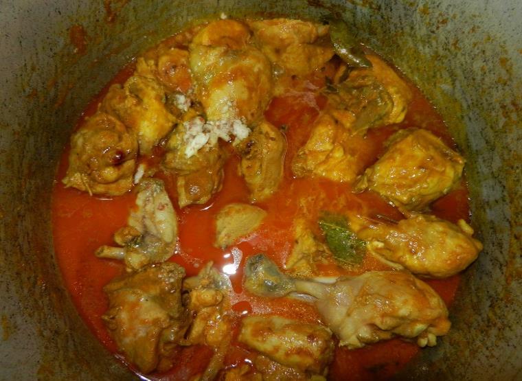 how to make chicken badami qorma