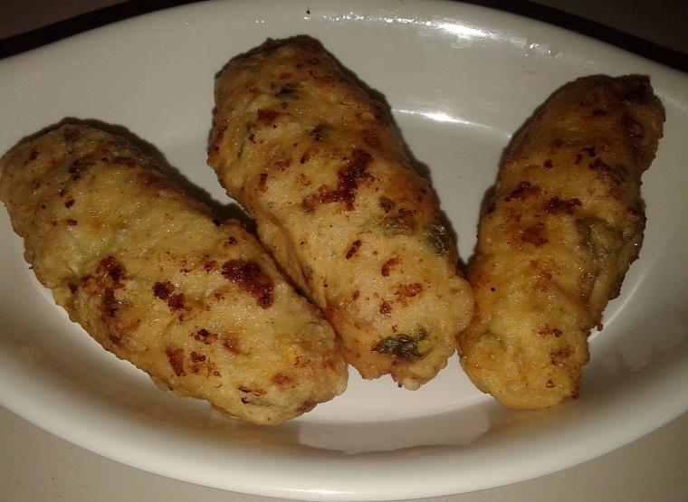 homemade cheese chicken croquettes