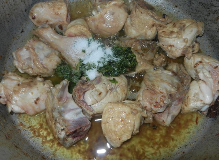chicken green korma recipe in urdu