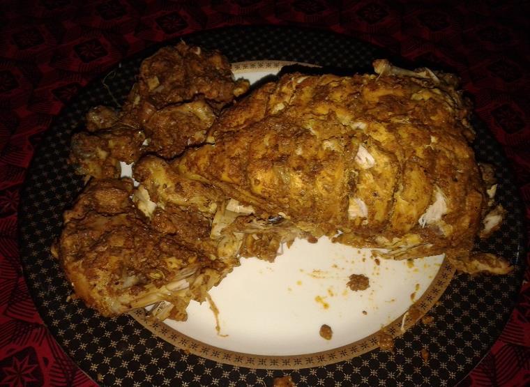 chicken roast recipe in urdu