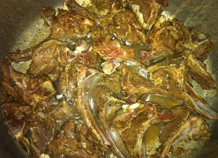 dum chops urdu recipe