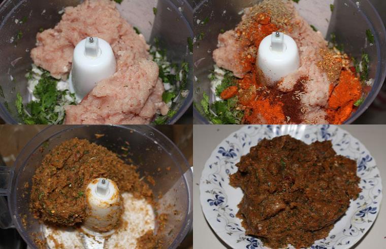 kafta kebab step 2