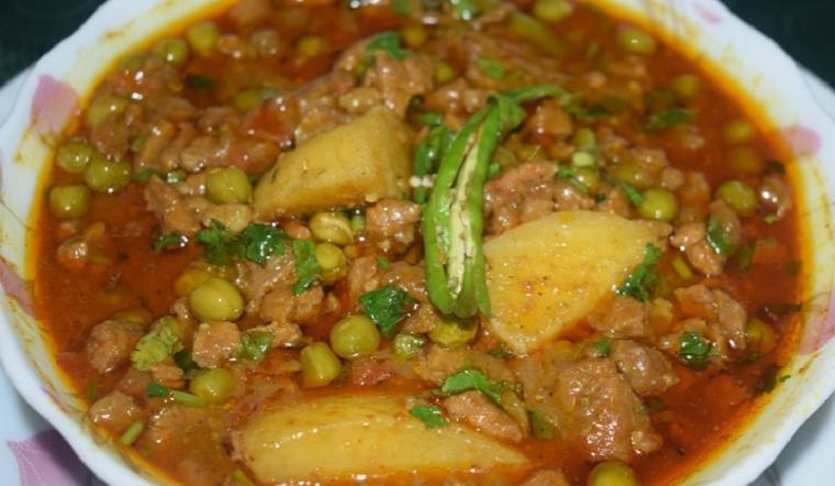 aloo keema recipe in urdu