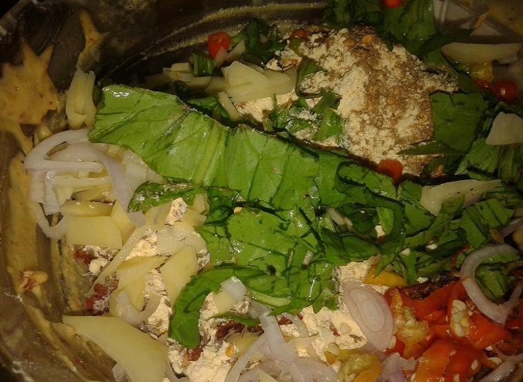 mixed veg fritters recipe
