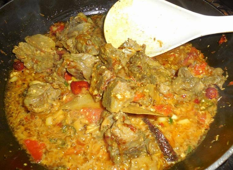 peshawari mutton masala