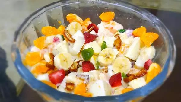 Fruit Chaat Ka Colour Kharab Hone Se Bachane Ka Tarika