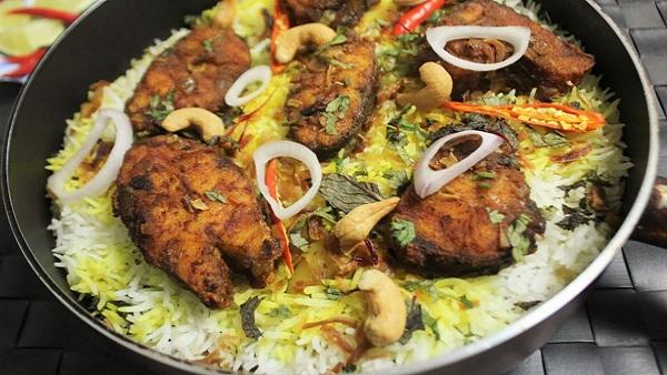 Tip for Fish Biryani by Shreen Anwer