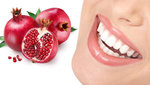 Image result for pomegranate for teeth