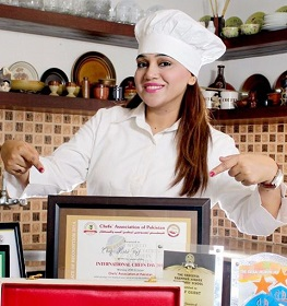 Chef Ruby Taj