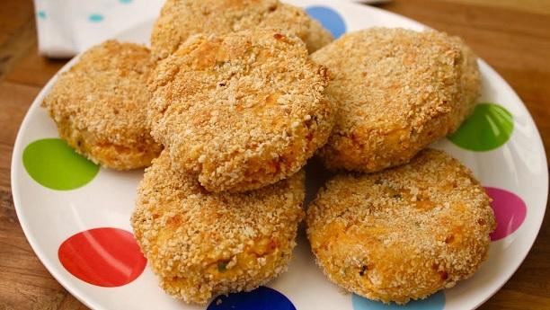 Chicken & Vegetable Cake Recipe