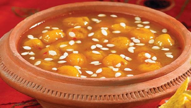 Aaloo Bukhara Chutney Recipe