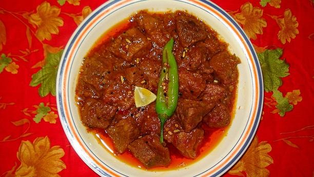 Achar Gosht Recipe