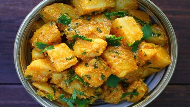 Achari Aloo (Pickled Potato)